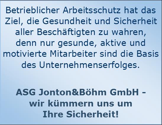 ASG Jonton&Böhm GmbH